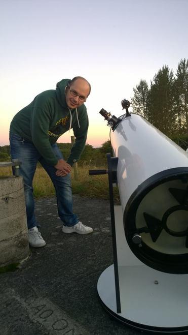 Dobson Telescope, foto: Niklas Henricson