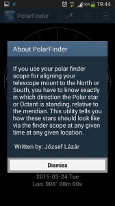 PolarFinder