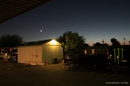 Moon in conjunction with Jupiter 5th of August, 2016. Sacramento, CA