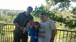 Henricson family visiting Redding