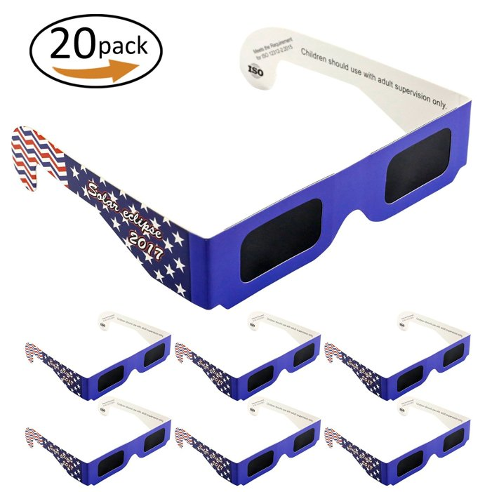 Solar Eclipse Glasses from Suntop Inc.