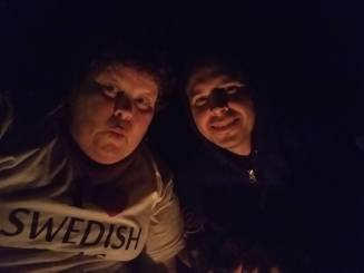 Me and my wife the night before the eclipse day