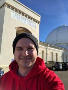 Lick Observatory Entrance