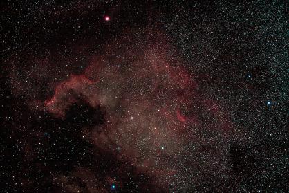 NGC 7000 - ISO 1600 - 5 mins